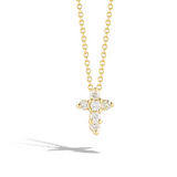 Tiny Treasure Diamond Cross