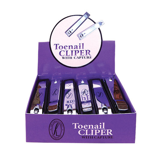 Display of Toenail Clipers