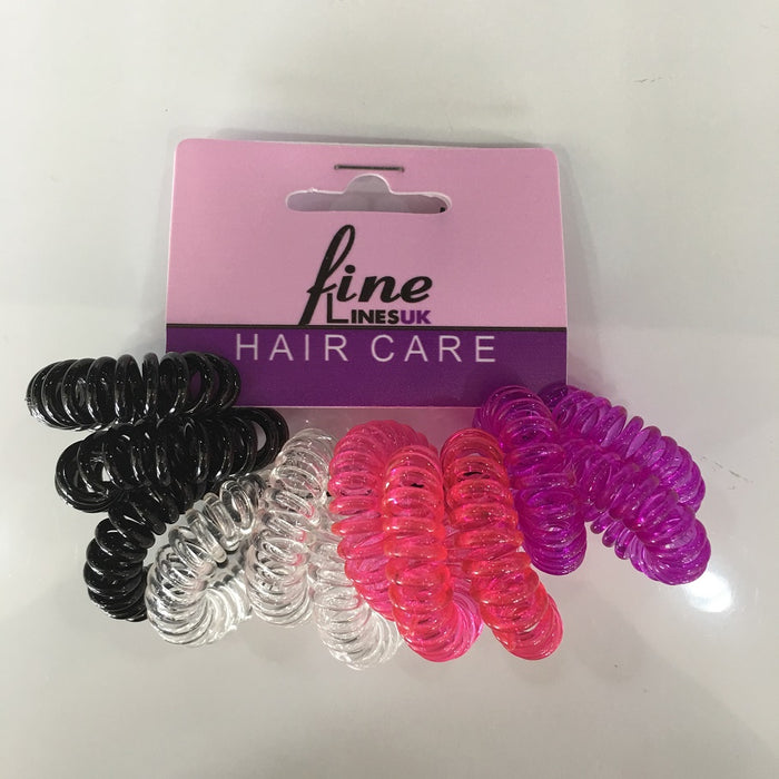 12PK, spiral bobbles, Assorted Colours