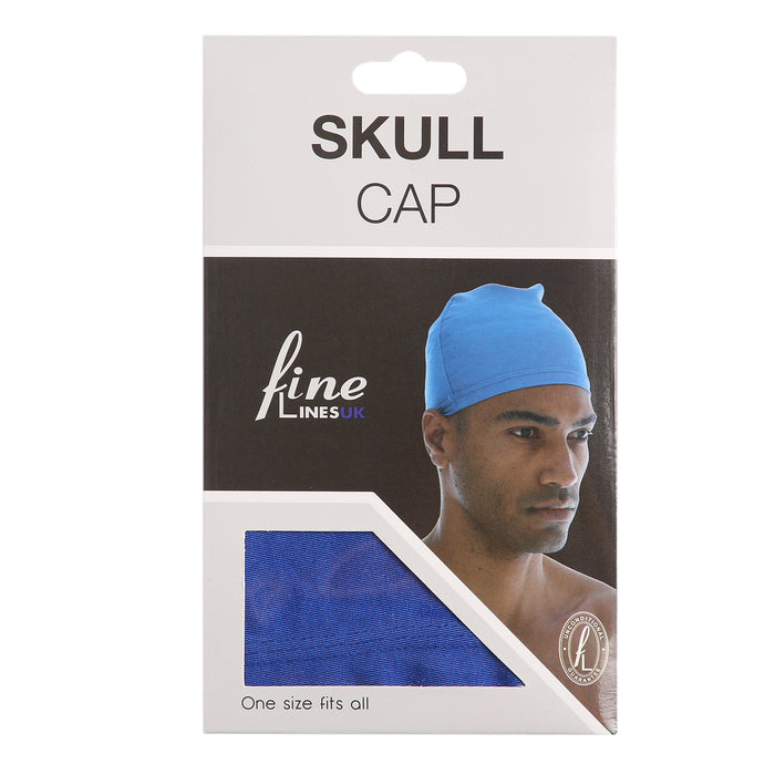 Skull Cap - Assorted Colours Pack of 12