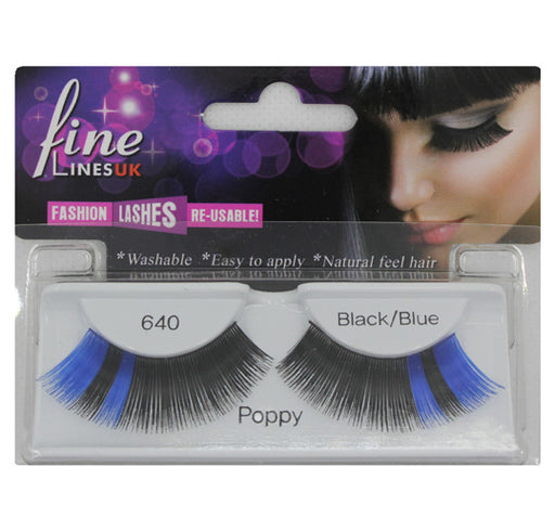 Strip eyelashes, Poppy