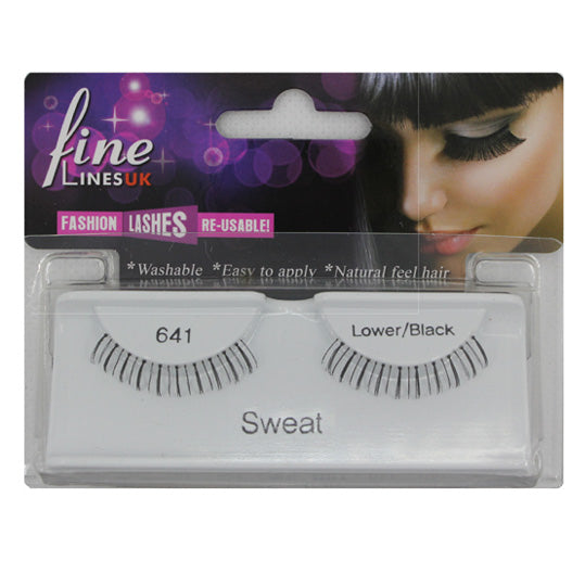 Lower Strip eyelashes, Sweet