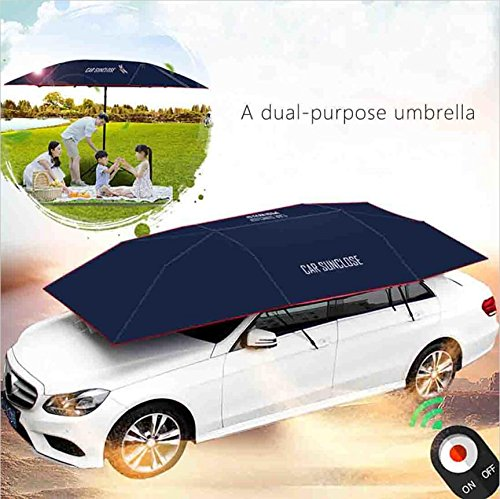 Yikeshu Automatic Car Umbrella Carport Automatic Car Tent Sun Shade