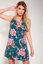 Load image into Gallery viewer, Floral mini dress