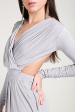 Load image into Gallery viewer, Silver maxy dress