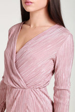 Load image into Gallery viewer, Metallic pink bodycon dress