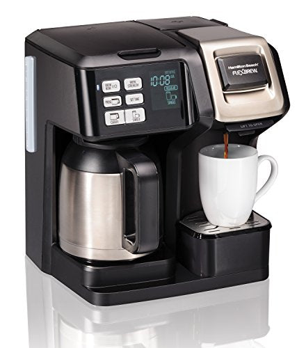 Hamilton Beach 49966 Coffee Maker With Thermal Carafe Single