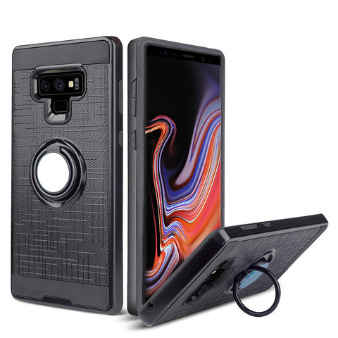 For samsung galaxy note 9 case new arrivals rugged Dual layer Armor ring holde
