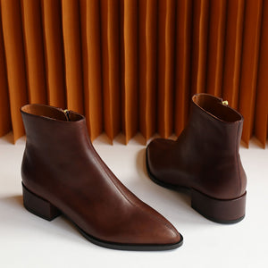 Cassidy - chestnut leather