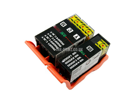 Compatible Dell 21/22/23/24 Black and Colour Ink Cartridges