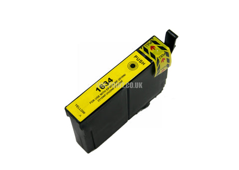 Compatible Epson T1634XL Yellow Ink Cartridge
