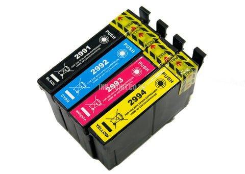 Compatible Epson T 29XL Multipack of 4 Ink Cartridges