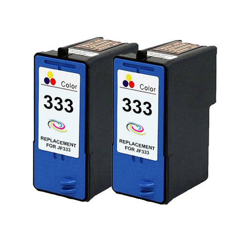 Compatible Dell JF333 Twinpack Colour Ink Cartridges