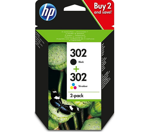 HP 302 Multipack of Ink Cartridges