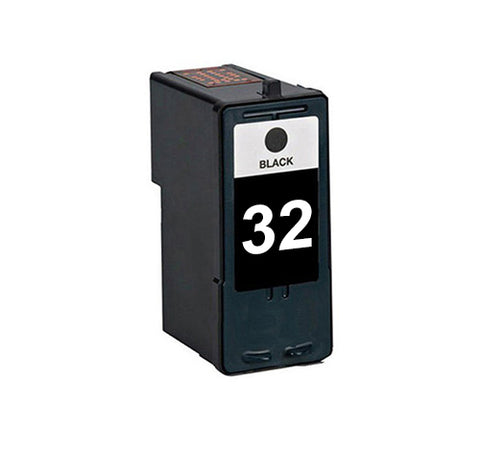 Compatible Lexmark 32 Black Ink Cartridge