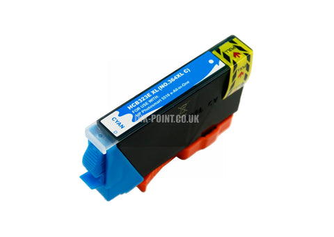 Compatible HP 364XL High Capacity Cyan Ink Cartridge