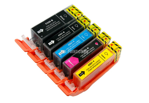 Compatible Canon PGI-520 & CLI-521 Ink Cartridges Multipack