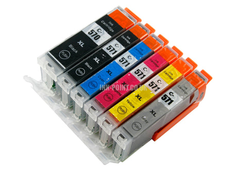 Compatible Canon PGI 570XL & CLI 571XL - 6 Cartridge Multipack