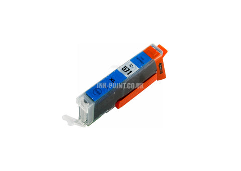 Compatible Canon CLI-571XL Cyan Ink Cartridge