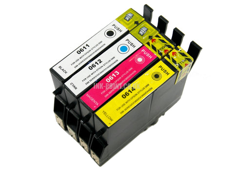 Compatible Epson T0615 Multipack of 4 Ink Cartridges
