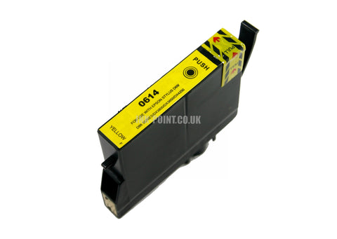 Compatible Epson T0614 Yellow Ink Cartridge