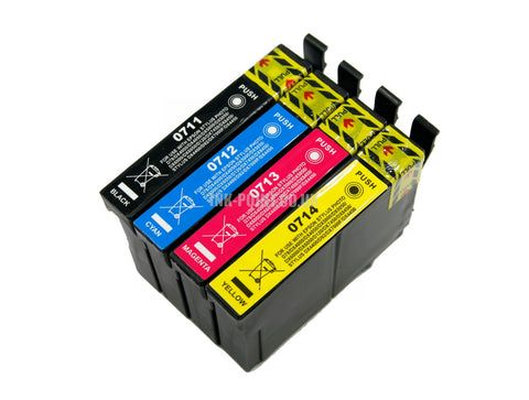 Compatible Epson T0715 Multipack of 4 Ink Cartridges