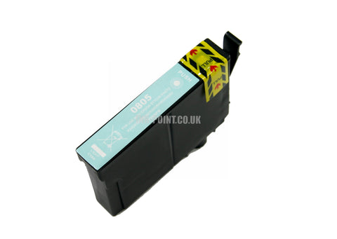 Compatible Epson T0805 Light Cyan Ink Cartridge