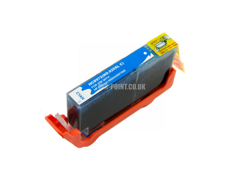 Compatible HP 920XL High Capacity Cyan Ink Cartridge