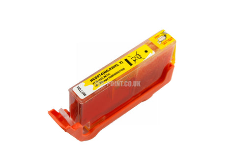 Compatible HP 920XL High Capacity Yellow Ink Cartridge