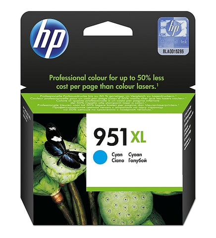 HP 951XL High Capacity Cyan Ink Cartridge