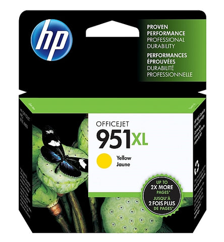 HP 951XL Yellow High Capacity Ink Cartridge
