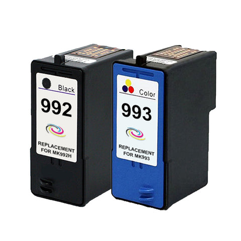 Compatible Dell MK992 / MK993 Black & Colour Ink Cartridge Pack