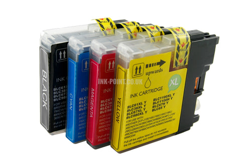 Compatible Brother LC1100 Ink Cartridges Multipack