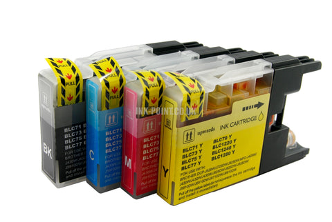 Compatible Brother LC1240 Ink Cartridges Multipack