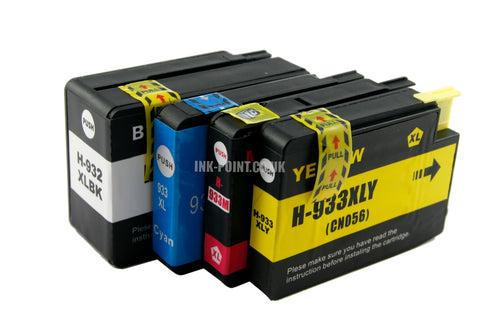 Compatible HP 932XL/933XL Ink Cartridges Multipack
