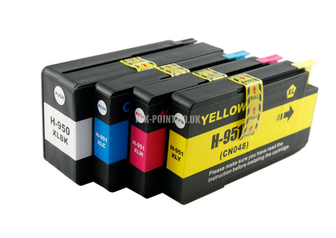 Compatible HP 950XL / 951XL Ink Cartridges Multipack