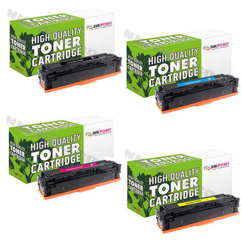 Compatible HP 201X (CF400X, CF4011A, CF402A, CF403A) Multipack Of Toner Cartridges