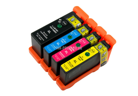 Compatible Lexmark 100XL High Capacity Multipack of 4 Ink Cartridges