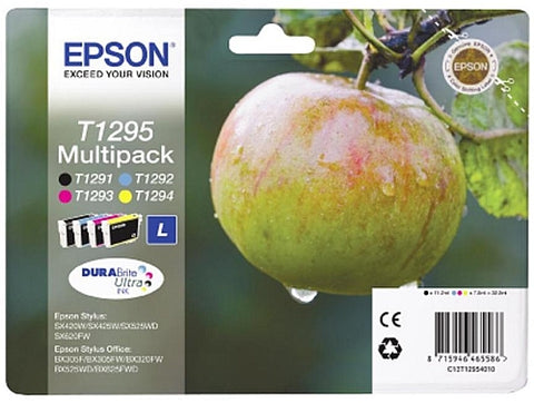 Epson T1295 Ink Cartridge Multipack (T1295 Apple)