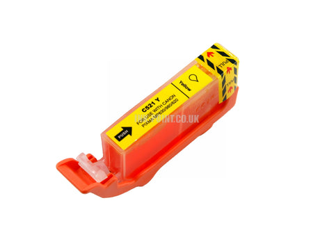 Compatible Canon CLI-521 Yellow Ink Cartridge
