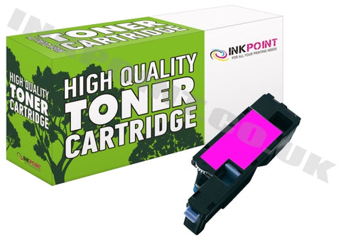 Compatible Dell C1660W Magenta Toner Cartridge 593-11128