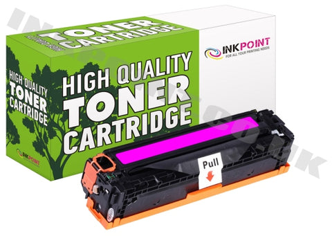 Compatible HP 304A Magenta Toner Cartridge (CC533A)