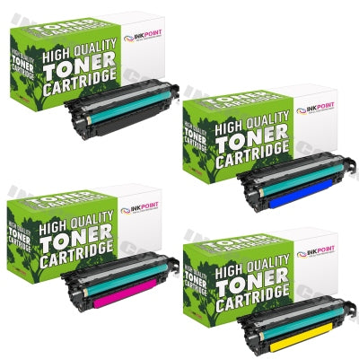 Compatible HP 504A (CE250A, CE251A, CE252A, CE253A) Multipack Of Toner Cartridges