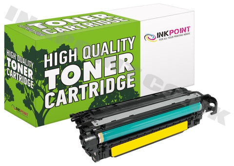 Compatible HP 504A Yellow Toner Cartridge (CE252A)