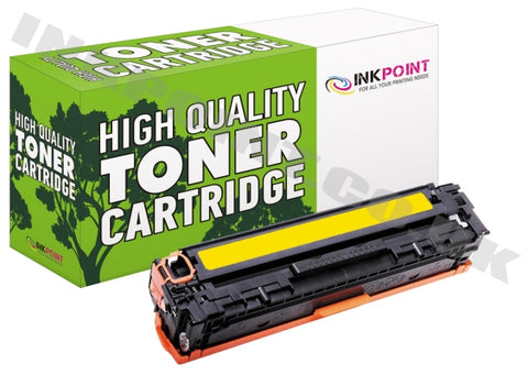 Compatible HP 128A Yellow Toner Cartridge (CE322A)