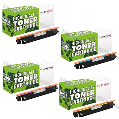 Compatible HP 130A (CF350A, CF351A, CF352A, CF353A) Multipack Of Toner Cartridges