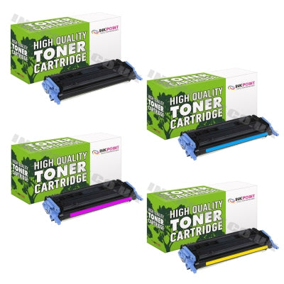 Compatible HP 124A (Q6000A, Q6001A, Q6002A, Q6003A) Multipack Of Toner Cartridges