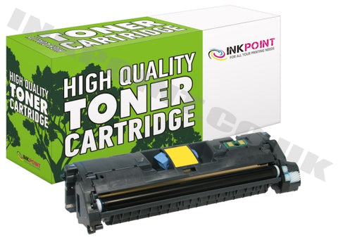 Compatible HP 122A Yellow Toner Cartridge (Q3962A)