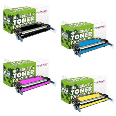 Compatible HP 501A (Q6470A, Q6471A, Q6472A, Q6473A) Multipack Of Toner Cartridges