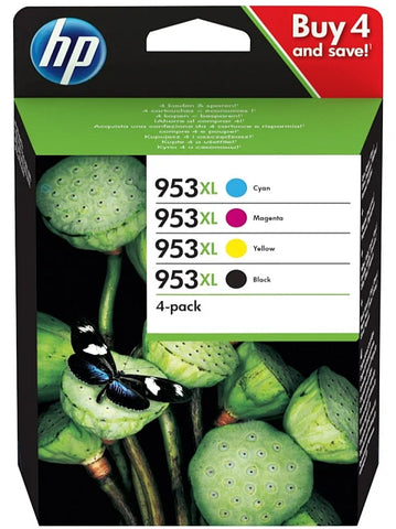 HP 953XL & 953XL Multipack of High Capacity Ink Cartridges